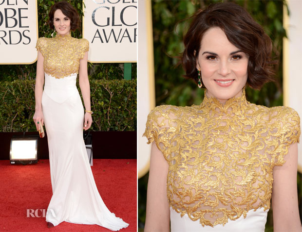 Michelle-Dockery-In-Alexandre-Vauthier-Couture-2013-Golden-Globes