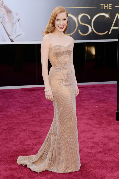 Jessica+Chastain+Armani+Prive+Oscars+2013+1