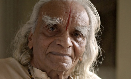BKS Iyengar, photographed in Karnataka, India, in 2005