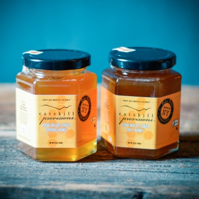 Catskill Provision Wildflower Spring and Fall Honey duo, $23 from catskillprovisions.com