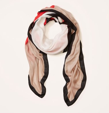 Colourblock Scarf $34.50 from theloft.com