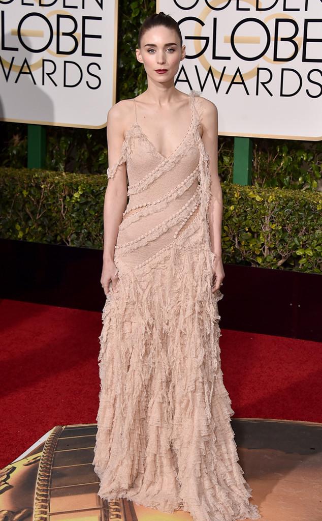 Rooney Mara Alexander McQueen